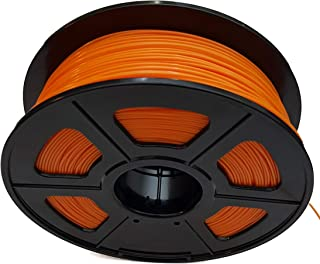 CC DIY - PLA+ 3D Printer Filament 1.75mm 1kg Spool Dimensional Accuracy +/- 0.02 mm (Orange)