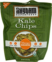 product image for Rhythm Superfoods Mango Habanero Kale Chips, 2-Ounce (Pack of 4)