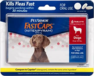 PetArmor 6 Count FastCaps for Dogs