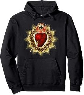 Sacred Heart of Jesus Christ Catholic Blessing Art Hoodie