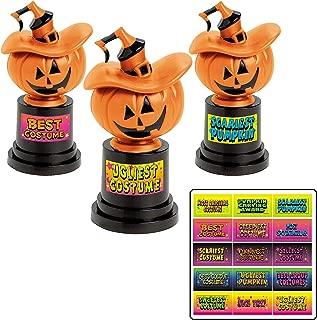 Halloween Jack-O-Lantern Costume Contest Trophies Trophy - 12 ct