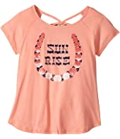 Lucky Brand Kids - Riley Sun Rise Graphic Tee (Big Kids)