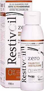 RestivOil Zero Shampoo Anti Prurito e Irritazione per Capelli Olio Fisiologico Delicato ad Azione Detergente, per Tutti i ...