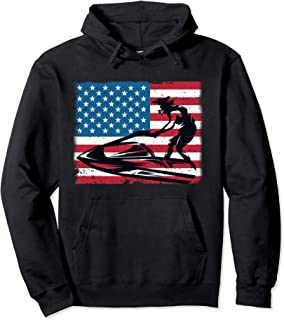 Jet-Ski Water Sports Funny Slogan Gift Pullover Hoodie