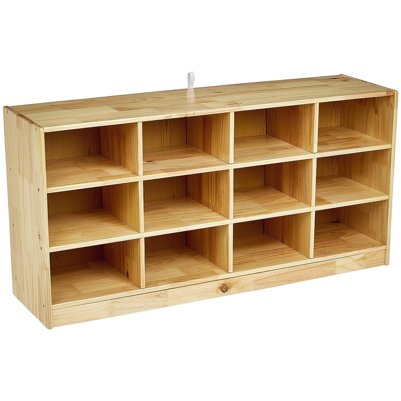 3. Amazon Basics Kids Vertical Storage Cubby