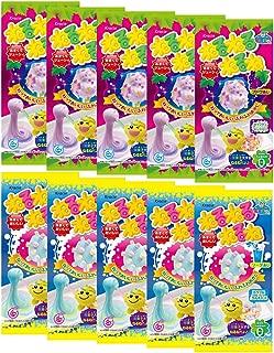 Nerunerunerune 2Types 10pcs Popin' Cookin' Japanese DIY Gummy Candy Kracie Children Snack Food Ninjapo