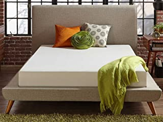 Live & Sleep Classic California King Size Memory Foam Mattress in a Box - Medium Plush Bed in a Box - Firm Support, Bonus Foam Pillow, CertiPUR Certified - Cal King Size Bed - coolthings.us