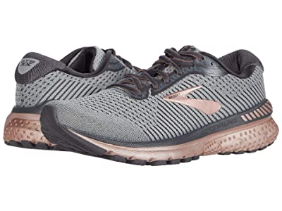 Brooks Adrenaline GTS 20 (Alloy/Rose Gold/Blackened Pearl) Women