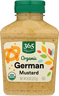 365 by Whole Foods Market, Organic Mustard, German, 8 Ounce