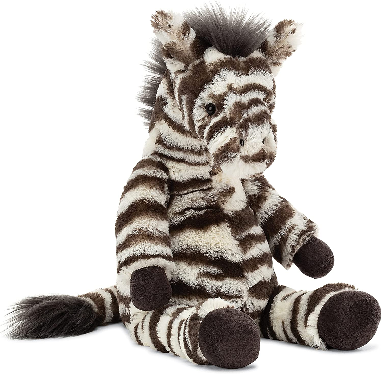 Genuine Free Shipping Jellycat Lallagie Zebra Animal Stuffed Max 84% OFF