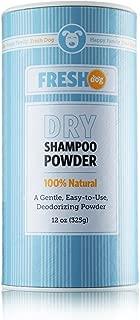 dog dry shampoo powder