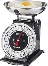 Korona 76150 Retro balance de cuisine TOM   capacité 5 kg, graduation 20 g   plateau de pesée inclus   tare - fonction de ...