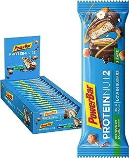 comprar comparacion PowerBar Protein Nut2 Milk Choco Hazelnut 18x(2x22,5g) - Barras de Proteína con Bajo Contenido de Azúcar