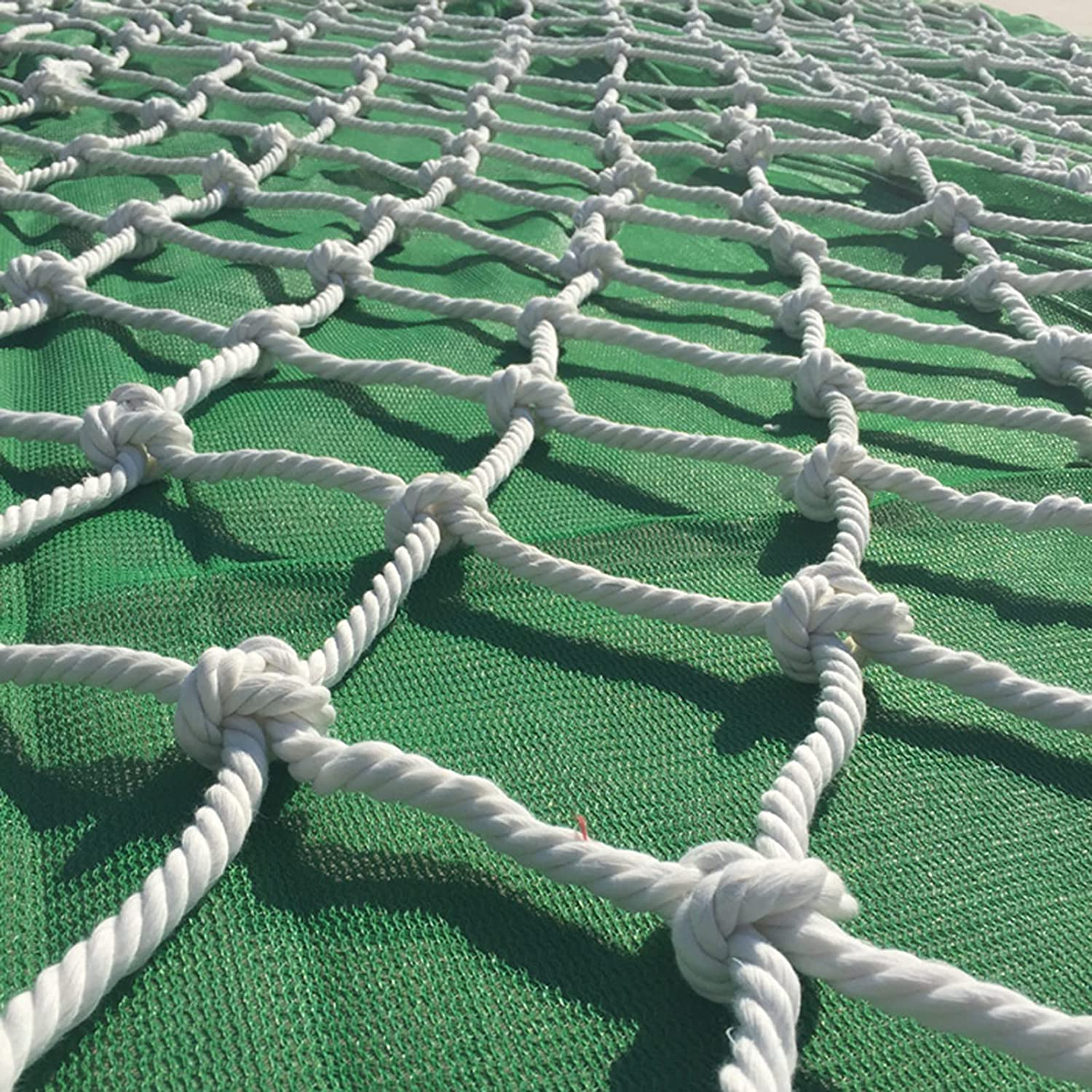 BNMY Rope Indefinitely Netting Climbing Net Cargo Deluxe Adults Climb Kids
