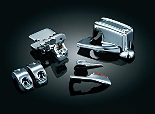 Kuryakyn 1740 Motorcycle Handlebar Accessory: Complete Chrome Replacement Brake and Clutch Control Dress-Up Kit for 2008-13 Harley-Davidson Touring Motorcycles