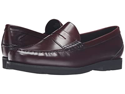 Rockport Modern Prep Penny (Burgundy) Men