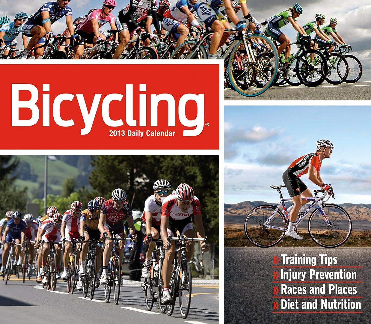 耐えられる死傷者鉄道駅Bicycling 2013 Calendar