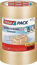 tesa UK Ultra Sterk PVC Verpakking Tape voor Zware items, 66 m x 50 mm