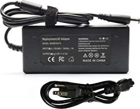 90W 65W 19V 4.74A AC Adapter Charger for HP Probook EliteBook 430 440 450 455 725 745 810 820 840 850 G1 G2 G6, 463958-001 609939-001 PA-1650-02HC PA-1900-18H2 F2P87UT F2P89UT F2P90UT Power Cord