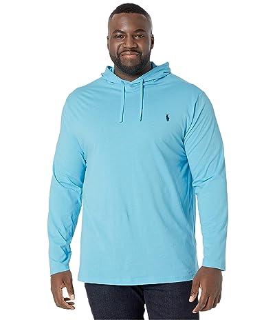 Polo Ralph Lauren Big & Tall Big Tall Hooded T-Shirt (Neptune) Men