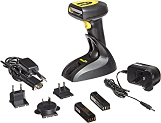 Wasp 633808920128 WWS800 Wireless Barcode Scanner with USB Base