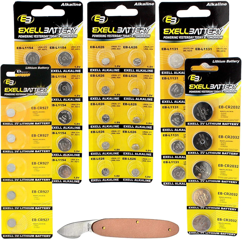 Limited Don't miss the campaign price 41pc Essential Batteries Kit L1131 Wat CR2032 CR927 L626 L1154
