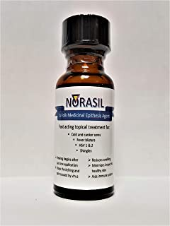 Norasil Ointment - A Highly Effective Treatment for Those Suffering from: Canker and Cold sores, Fever blisters (HSV-1), g...