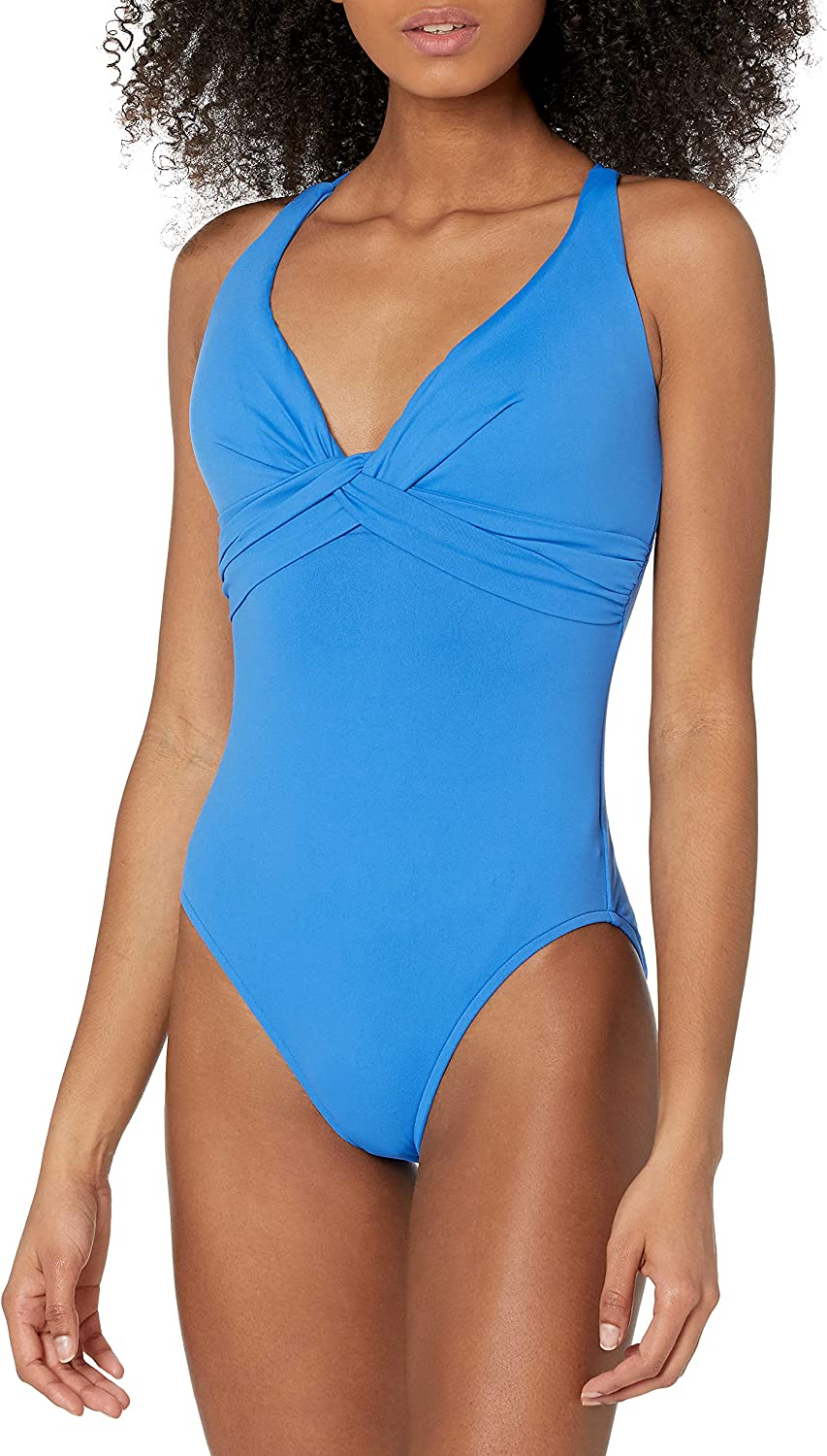Seafolly Women's Dd Cup Wrap Front One Piece Swimsuit