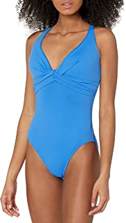 Seafolly Women's Dd Wrap Front Maillot One Piece Swimsuit