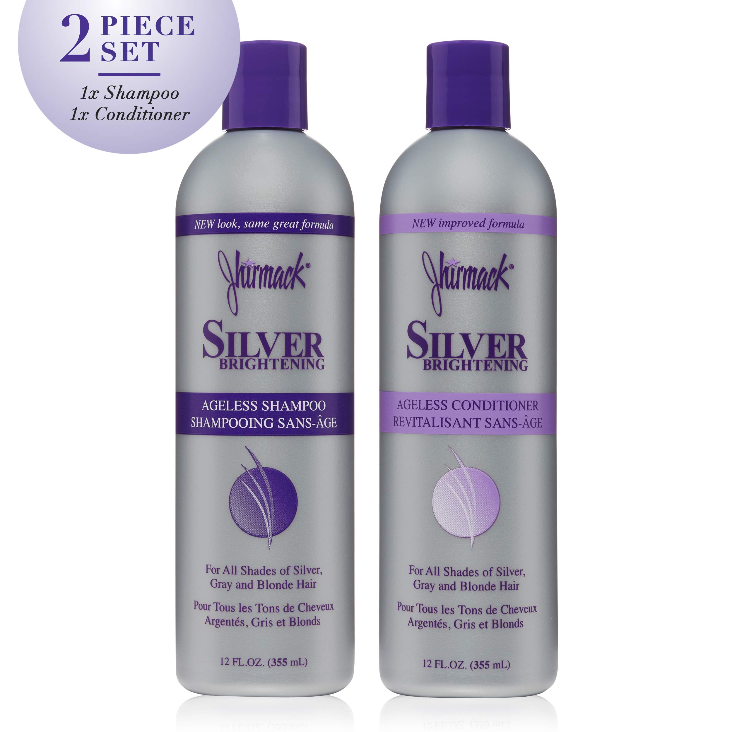 Jhirmack brightening Ageless shampoo conditioner