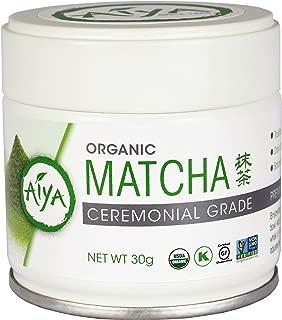 Aiya Organic Ceremonial Matcha Tea (30g tin)