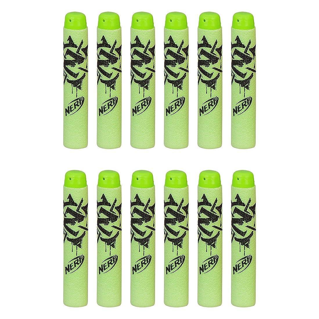 窒息させる絞るキャリアナーフゾンビストライクアメリカ Nerf Boys Zombie Strike Deco Dart Refill (12-Pack) [並行輸入品]
