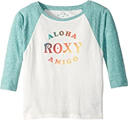 Roxy Kids - Dream Too Much Aloha Amigo Tee (Big Kids)