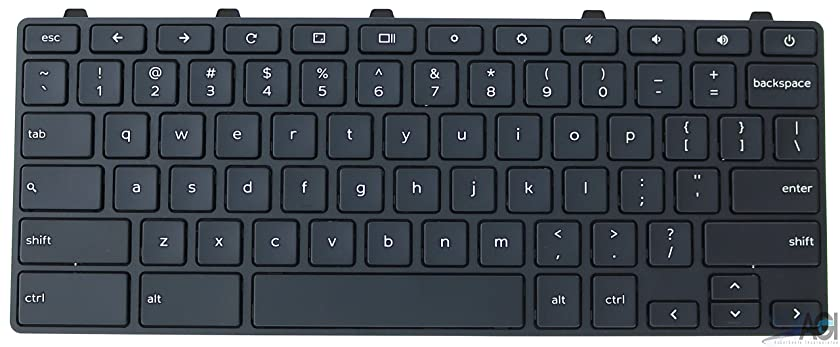 Keyboard 5XVF4 Compatible with Dell 11 Gen 3 3180 Chromebook