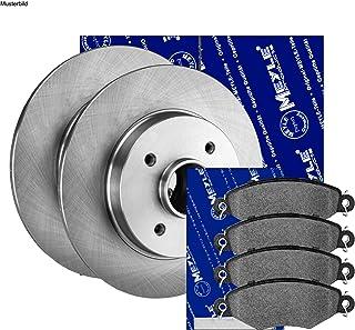 Meyle Bremsscheiben ø258mm + Bremsbeläge Set Vorne