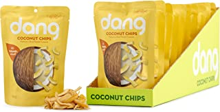 Dang Toasted Coconut Chips, Gluten-Free, Paleo, Vegan, Non-GMO, Caramel Sea Salt, 1.43 Ounce (12 Count)