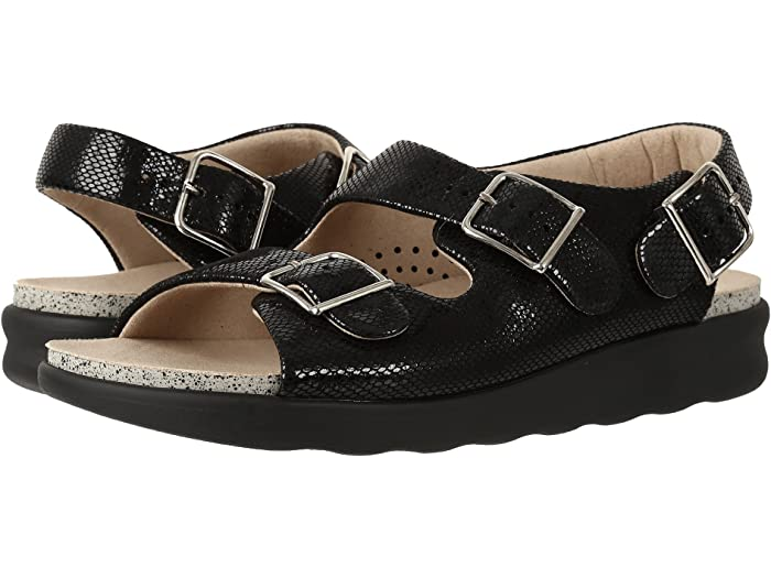 SAS Relaxed (Black Snake) Women's Shoes