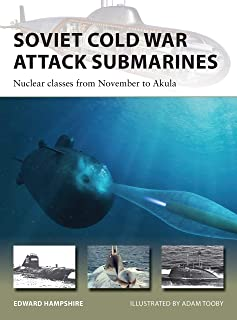 Soviet Cold War Attack Submarines: Nuclear classes from Nove