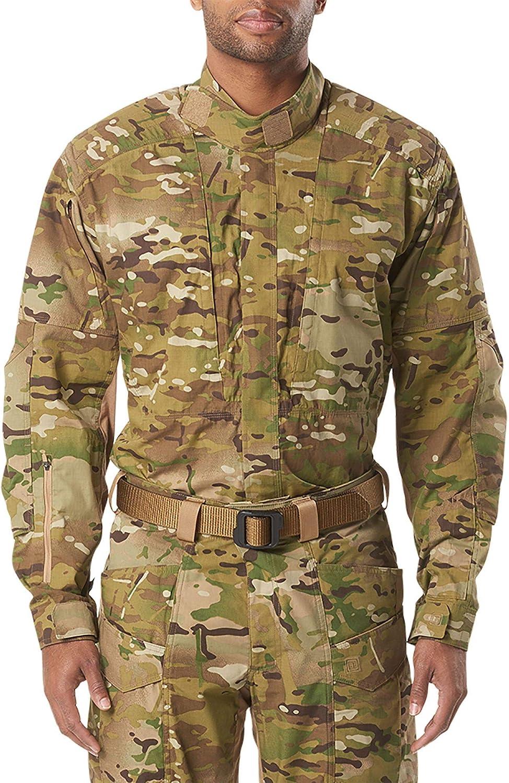 Some reservation 5.11 Tactical Men's XPRT Multicam Co Sleeves trust Long Shirt Cotton