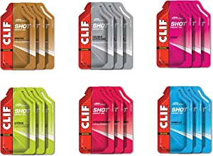 CLIF SHOT - Energy Gels - Best Sellers Variety Pack - Non-GMO - Fast Carbs for Energy - Fast Fuel for Cycling and Running (1.2 Ounce Packet, 18 Count) (Packaging & Assortment May Vary)