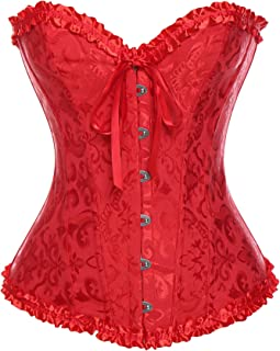 da56bf639beb57 Suchergebnis auf Amazon.de für: corsage rot: Bekleidung