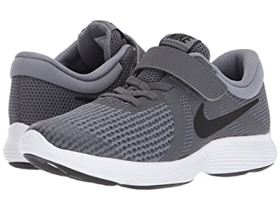 Nike Kids Revolution 4 (Little Kid) (Dark Grey/Black/Cool Grey/White) Boys Shoes