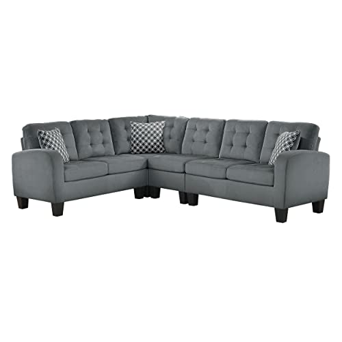 L Shaped Couch Sofas: Amazon.com