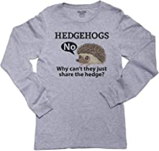 Hollywood Thread Hedgehogs, Why Can't They Share The Hedge? - Funny Long Sleeve Youth T-Shirt