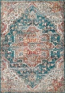 Luxe Weavers Blue 5x7 Oriental Area Rug