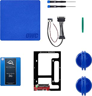 OWC 500GB 3G SSD and HDD DIY Complete Bundle Upgrade Kit for Late 2009-2010 iMacs, (OWCKITIM09HE500)