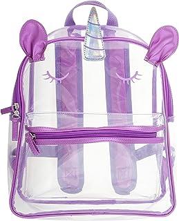 Stephen Joseph Kids Clear Backpack, Unicorn, one size
