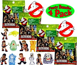 Ghostbusters Ecto Minis Basic Figure Blind Bags Party Bundle - 4 Pack (Assorted)