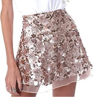Women's Sexy Sequins Cocktail Mini Skirt Club Dress