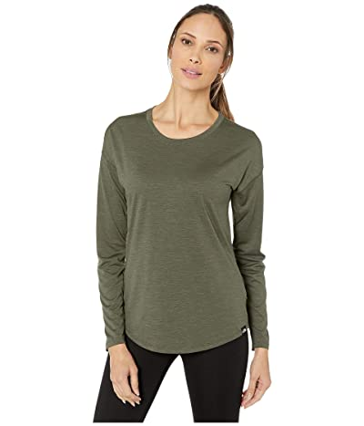 The North Face Hyperlayer FD Long Sleeve Crew (New Taupe Green Heather) Women
